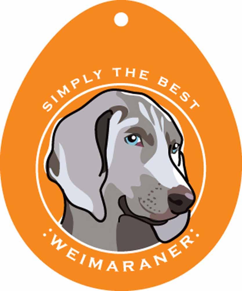 """Weimaraner Sticker 4x4"""""""