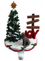 Weimaraner Stocking Holder Hanger