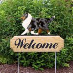 Outdoor Wooden Welcome Dog Signs