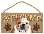 Indoor Dog Sign - Welcome
