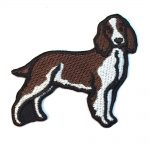 Welsh Springer Spaniel Iron on Embroidered Patch