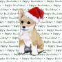 Corgi Pembroke Dog Coasters Christmas Themed Puppy 1