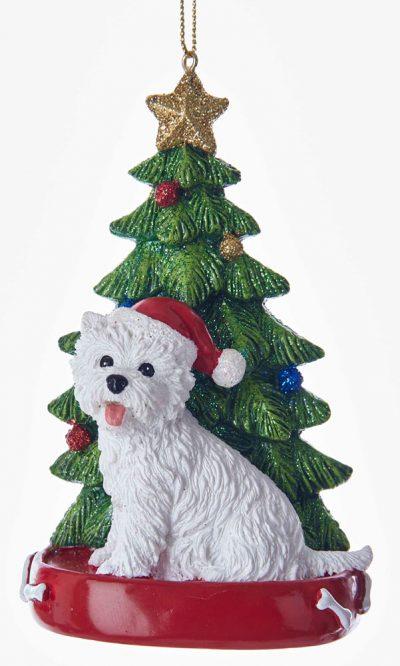 Westie Christmas Tree Ornament