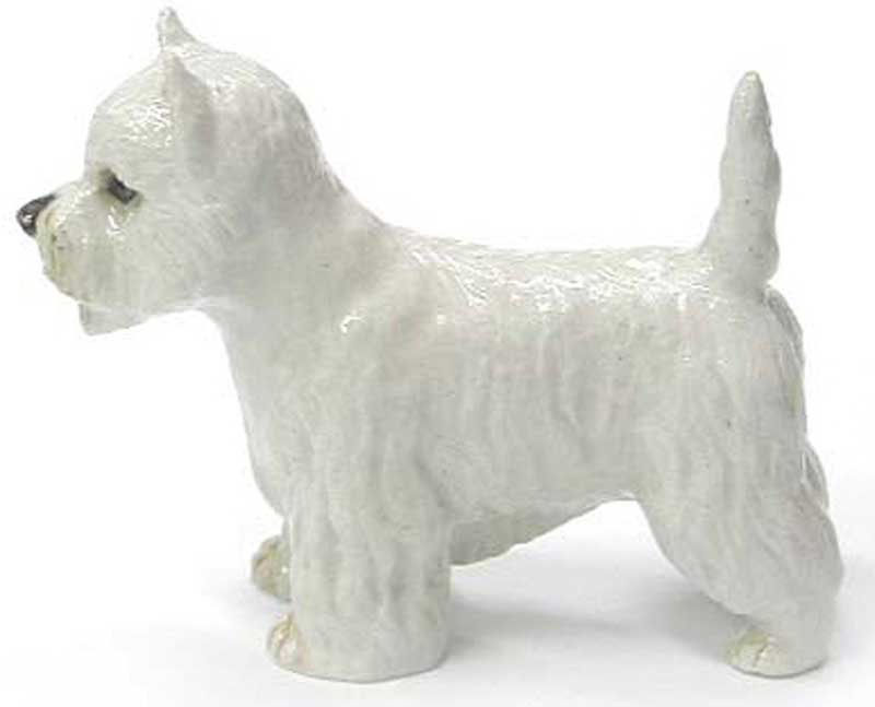Westie Hand Painted Porcelain Figurine