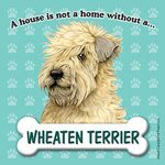 Soft Coated Wheaten Dog Magnet