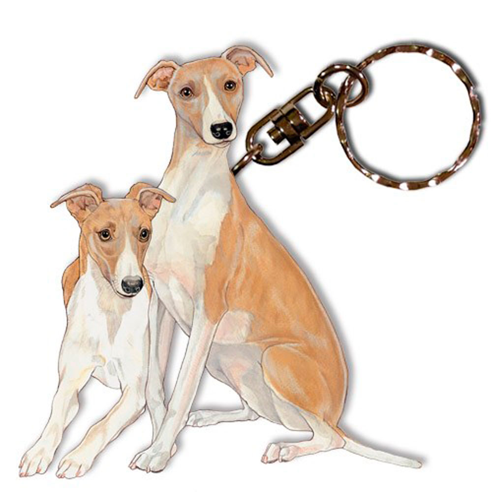 whippet-keychain-wooden