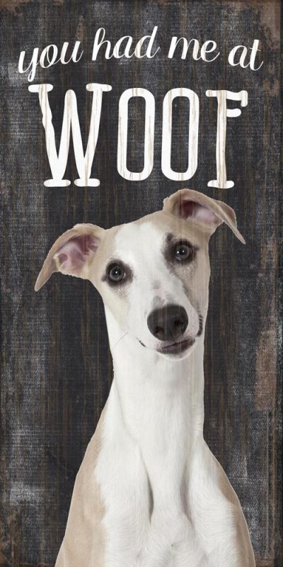 Whippet Sign – You Had me at WOOF 5×10 1