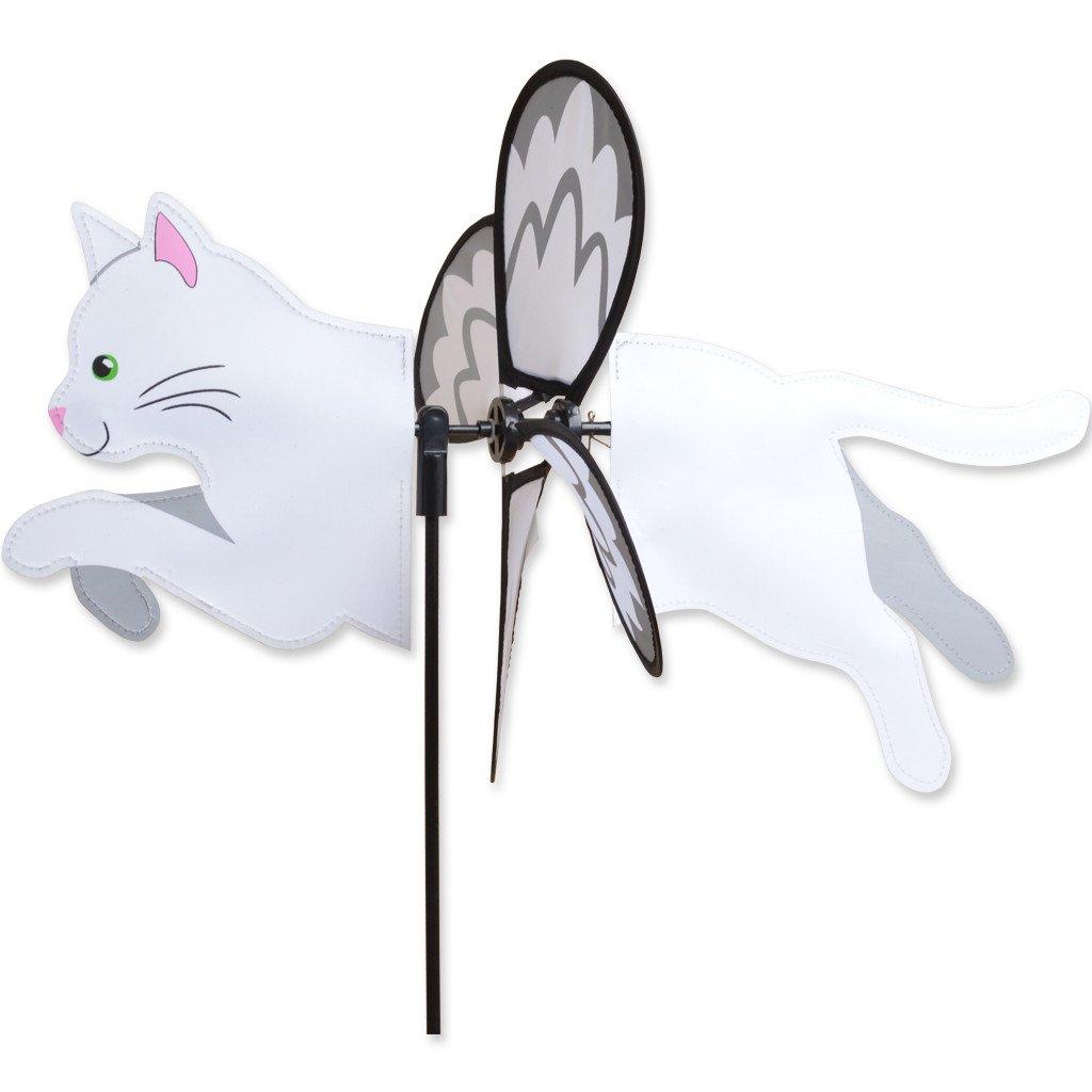 White Cat Garden Spinner