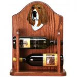 Dog Wine Bottle Rack Holders