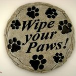 Dog Stepping Stone Wipe Your Paws