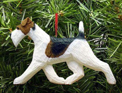 Wire Fox Terrier Ornament
