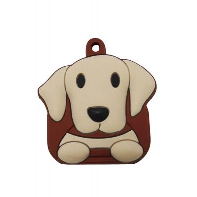 Yellow Lab Key Cover 1