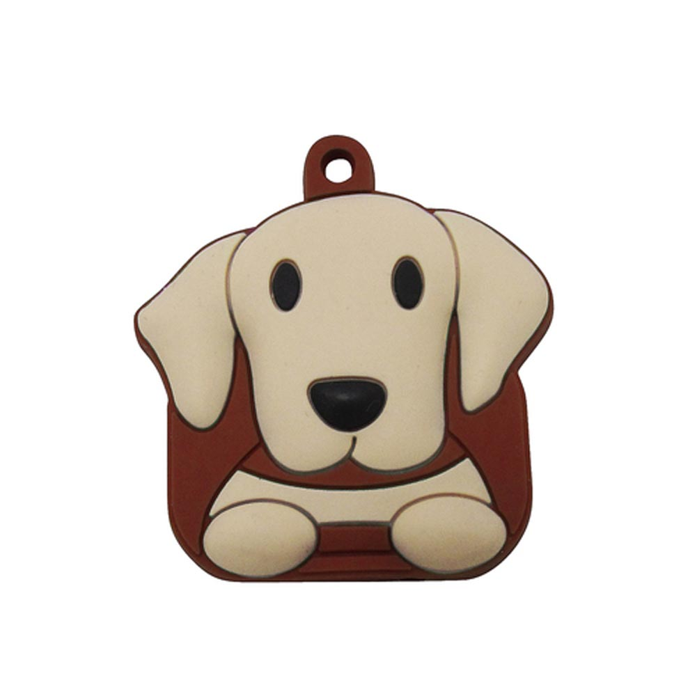 Yellow Lab Key Cover