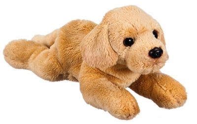 Yellow Lab Bean Bag Stuffed Animal