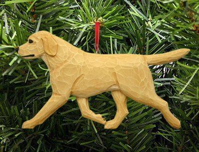 Yellow Labrador Ornament 1