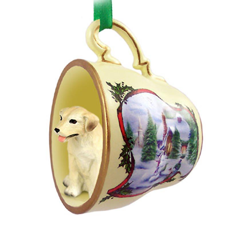 yellow_lab_snowman_dog_ornaments