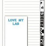 Yellow Lab Dog Notepads To Do List Pad Pencil Gift Set 1