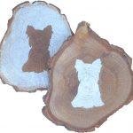 yorkie-coasters-wood