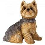 Yorkie Figurine Hand Painted – Sandicast 1
