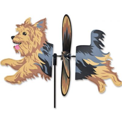 Yorkie Garden Wind Spinner