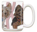 Yorkie Ceramic Mug 15 Ounces
