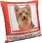 Yorkie Pillow 16x16 Polyester