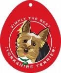 """Yorkshire Terrier Yorkie Sticker 4x4"""""""