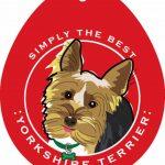 Yorkshire Terrier Yorkie Sticker 4×4″ 1