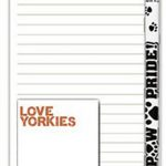 Yorkie Dog Notepads To Do List Pad Pencil Gift Set 1