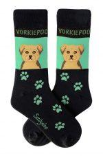 Yorkiepoo Socks