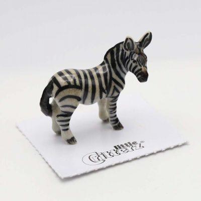 Zebra Porcelain Figurine
