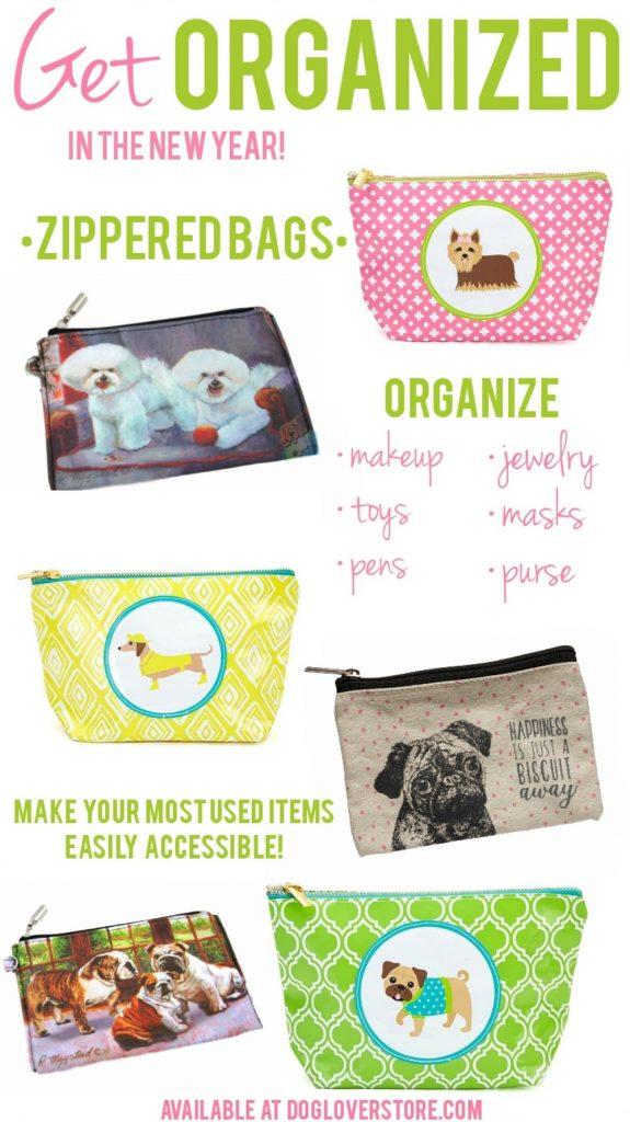 Organized Zippered Dog Bags
